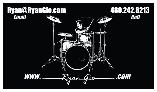 Ryan Gio BUSINESS CARD (Front)