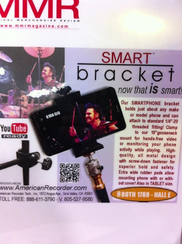 American Recorder Smart Bracket - NAMM DISPLAY